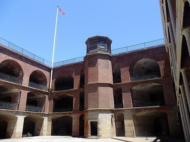 Fort Point National Landmark, San Francisco, CA