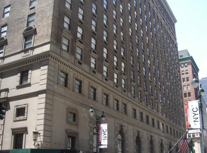 Roosevelt Hotel, NYC