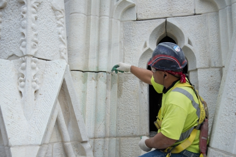 Stone Pointing St. Pats Action