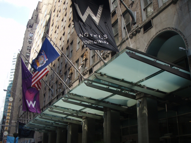 W New York Hotel, NYC